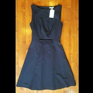 NWT! H&M Navy A Line Dress